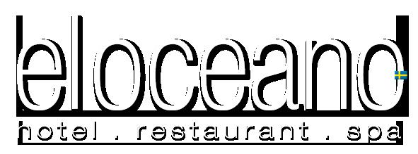 Logo El Oceano beach Hotell, restaurang, skönhetssalong och cocktailsalong.