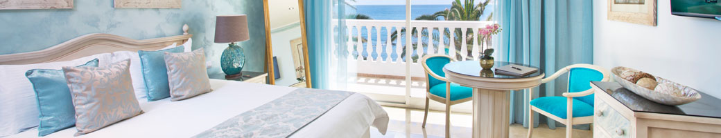 Deluxe Mini Suites - Hotel Accommodation at El Oceano Hotel, Costa del Sol, Spain feat