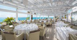 El Oceano Beach Hotel, Restaurant and Cocktail Lounge, between Marbella and La Cala de Mijas, Costa del Sol, Spain