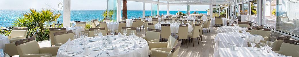 El Oceano restaurante frente al mar - Un restaurante de lujo entre Marbella y La Cala de Mijas en la Costa del Sol Espana