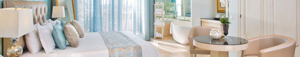 Feature Bath Suites at El Oceano Beach Hotel on Spain's Costa del Sol