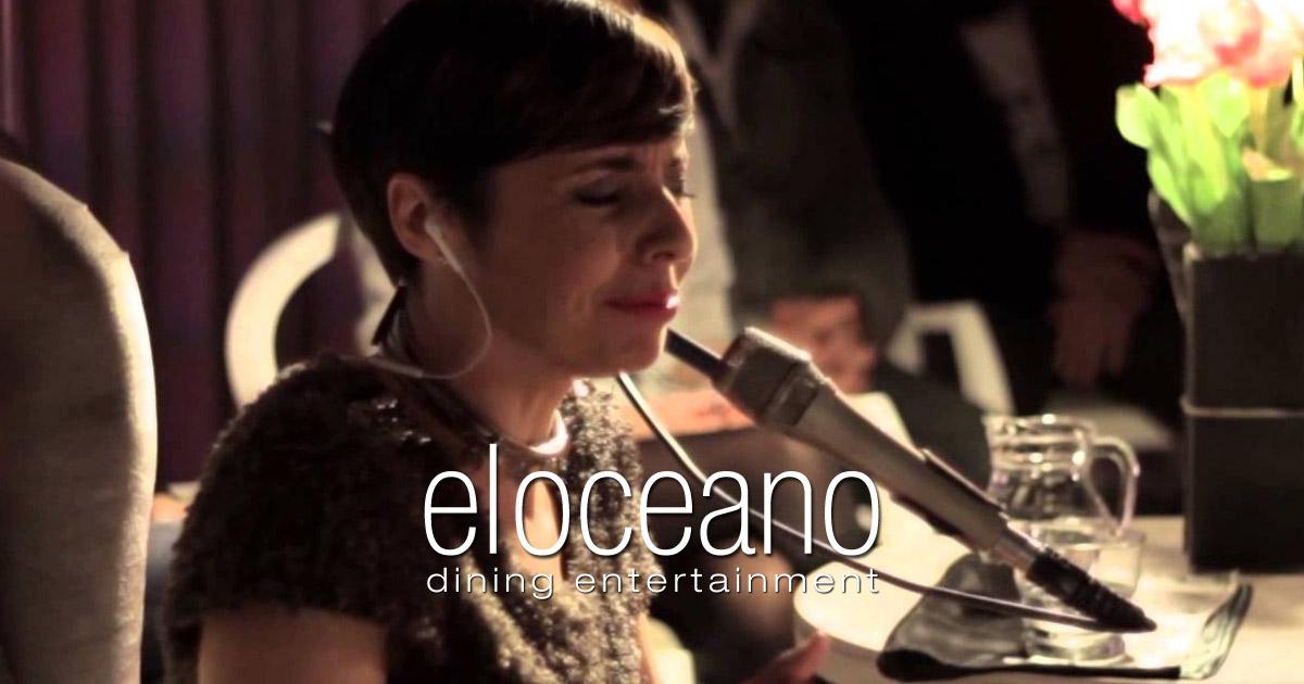 La Negra Mayte & Co - Dining Entertainment, El Oceano Restaurant, Mijas Costa, Spain OG 3