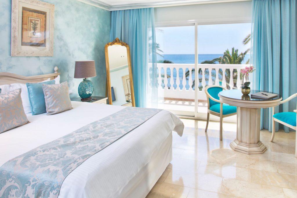 Mini Suites - Ocean Front Terrace or Balcony, Twin Rooms - El Oceano Boutique Beach Hotel, Costa del Sol, Spain