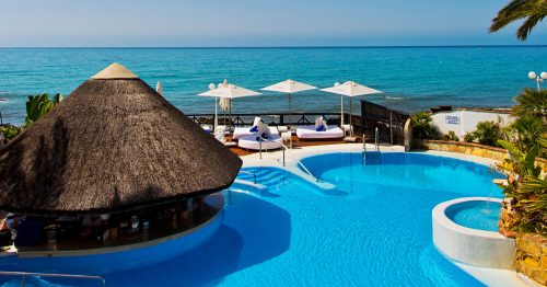 Paradise is closer than you Think at El Oceano - the Costa del Sol's Finest Beach Hotel