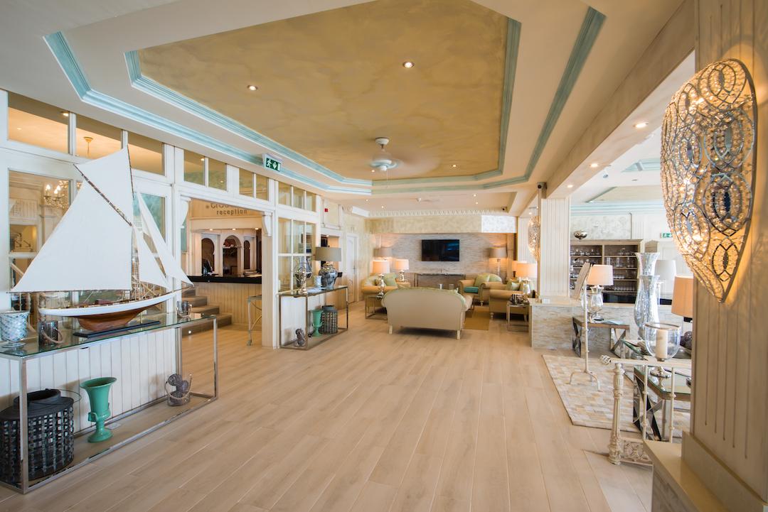 Reception And Entrance Lobby At El Oceano Beachfront Hotel