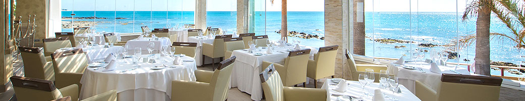 The best Marbella restaurant, a little outside Marbella - El Oceano Beachfront Restaurant