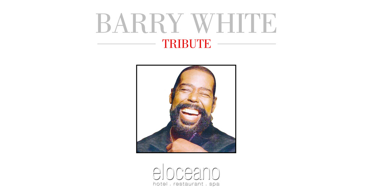 Barry White Live Dining Entertainment at El Oceano Luxury Beach Hotel Restaurant Mijas Costa Spain