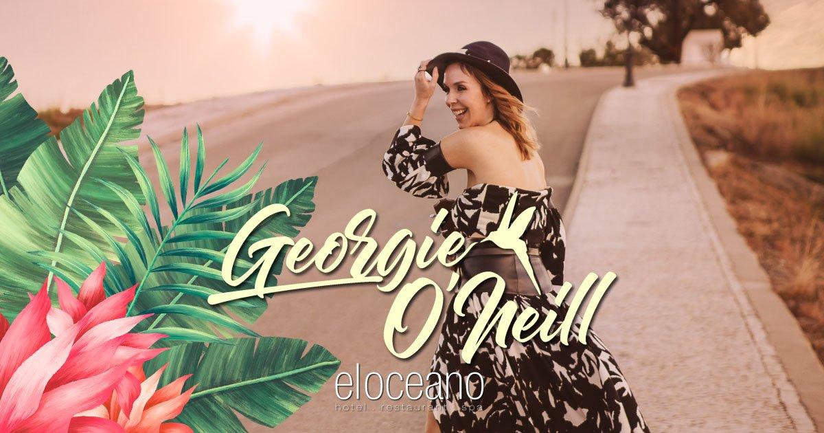 Georgie O'Neill Live Music El Oceano Hotel Restaurant VIP Sun Terrace OG01