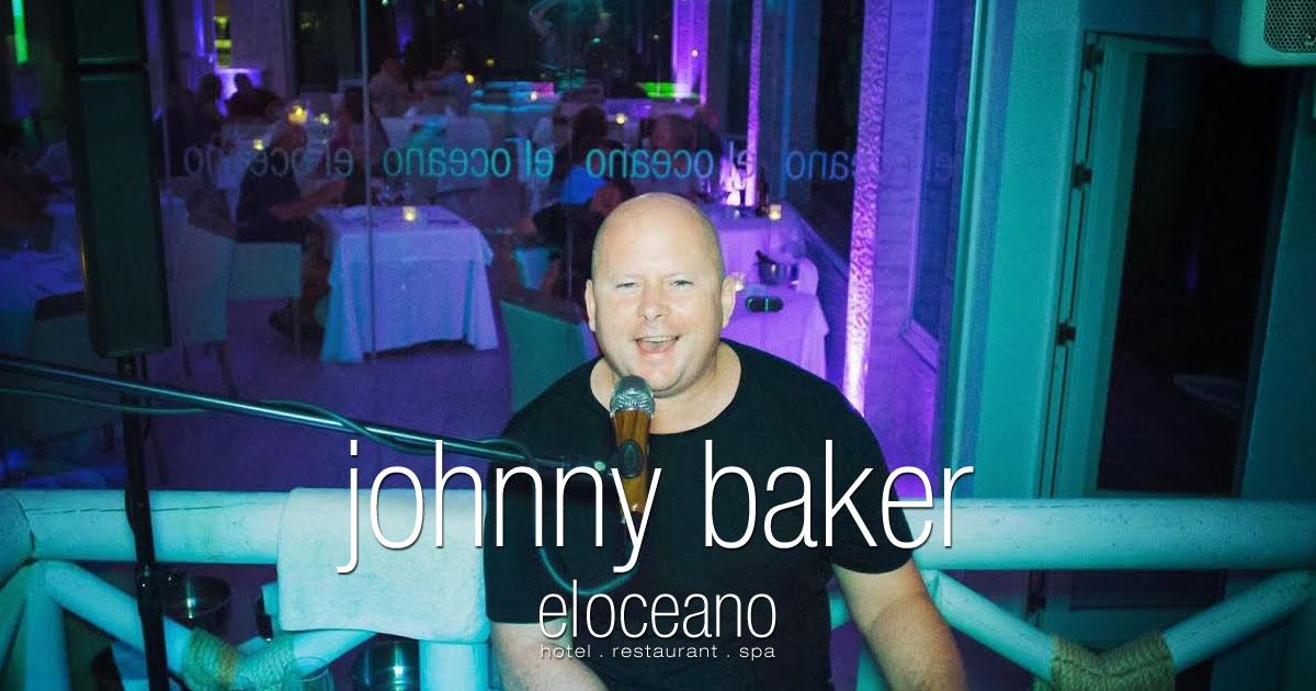 Johnny Baker Dining Entertainment at El Oceano Restaurant, Costa del Sol OG03