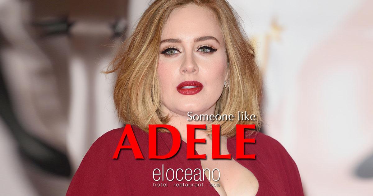 Someone Like Adele Dining Entertainment at El Oceano Beach Hotel Mijas Costa Spain