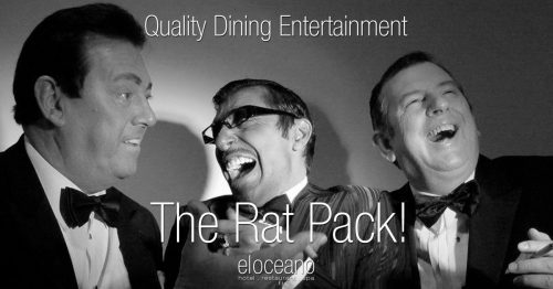 The Rat Pack Dining Enterteinment El Oceano Hotel Restaurant OG01