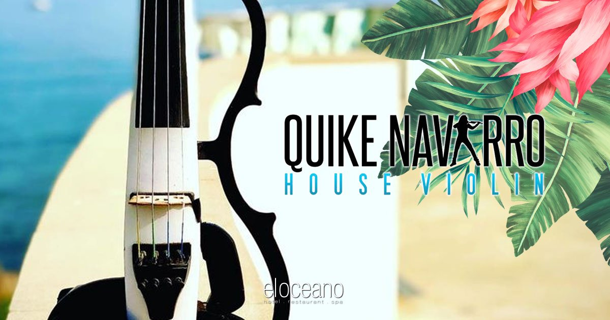 Quike Navarro House Violin - El Oceano Live Music & Entertainment OG01