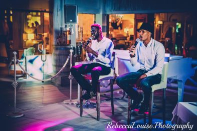 Tmar and RJay Dining Entertainment at El Oceano Restaurant 03