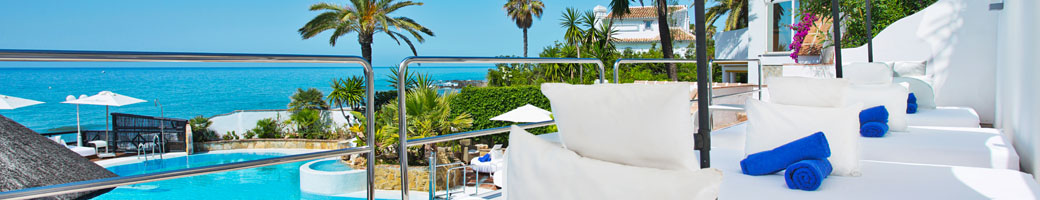 VIP Sunbeds and the New Sky Deck at el Oceano Hotel