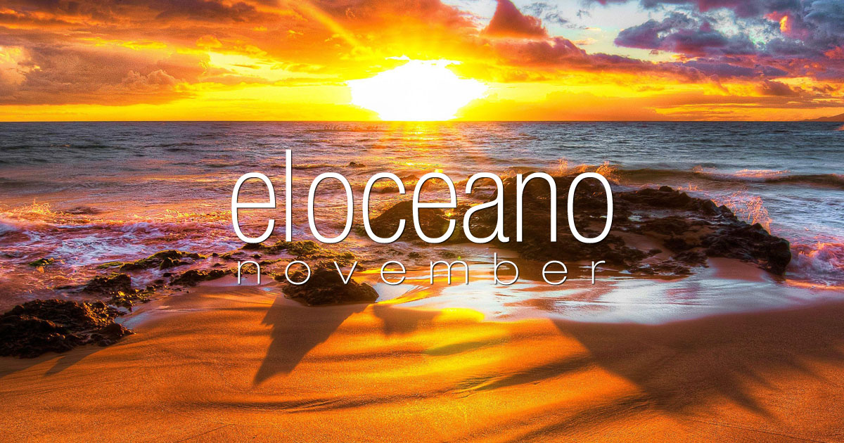 November at El Oceano Hotel Restaurant Beauty Salon Mijas Costa
