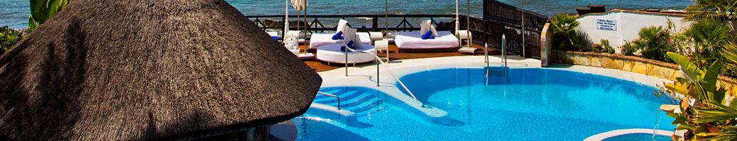 November at El Oceano Hotel and Restaurant, Mijas Costa