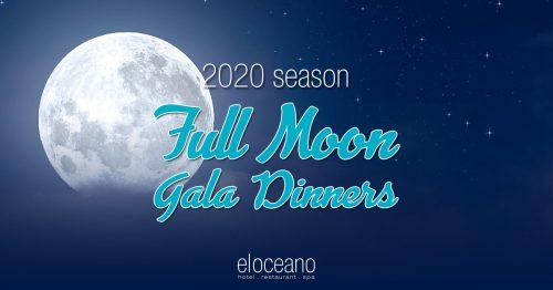Full Moon Gala Dinners 2020 Season El Oceano Hotel Restaurant Mijas Costa OG01