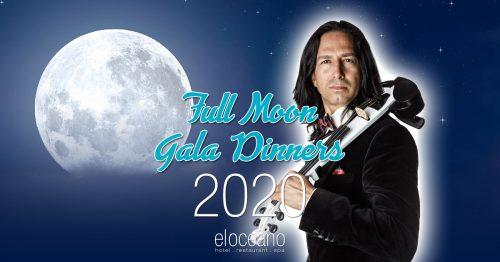 Full Moon Gala Dinners 2020 Season El Oceano Hotel Restaurant Mijas Costa OG02