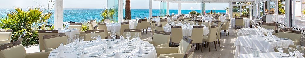 Three Restaurant Areas at El Oceano on Spain's Costa del Sol
