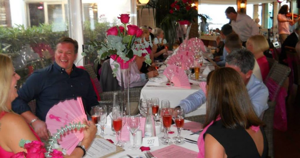 The Pink Ball 2017 at El Oceano Beach Hotel, Mijas Costa, Spain