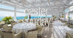 Easter Sunday at El Oceano Restaurant, Mijas Costa, Spain