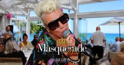 Masquerade Duo Dining Entertainment El Oceano Beach Hotel Mijas Costa Spain OG04