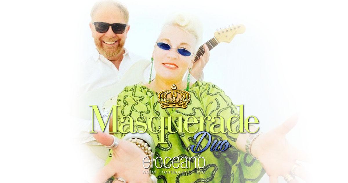 Masquerade Duo Dining Entertainment El Oceano Beach Hotel Mijas Costa spain OG01