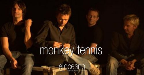 Monkey Tennis Live Music Sundays at El Oceano Restaurant OG01
