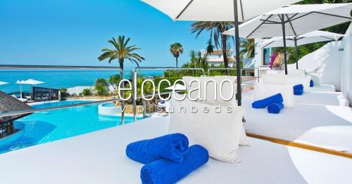 VIP Sunbeds at El Oceano Beach Hotel OG01