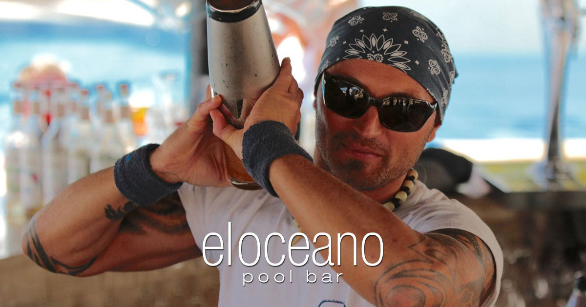 El Oceano Pool Bar - The Finest Cocktails in the Perfect Location - El Oceano OG01