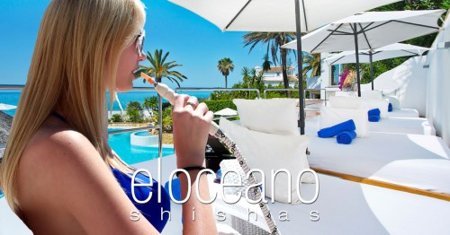 Shisha Pipes at El Oceano Beach Hotel OG01