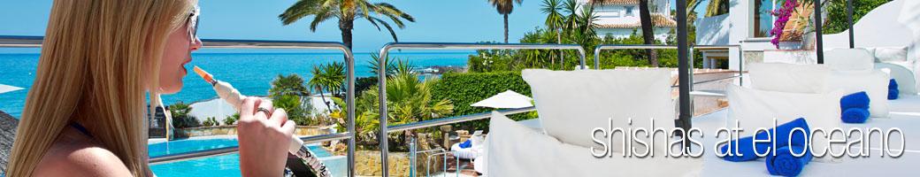 Shisha Pipes at El Oceano Beach Hotel P01