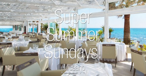 Super Summer Sundays at El Oceano Hotel, Mijas Costa OG01