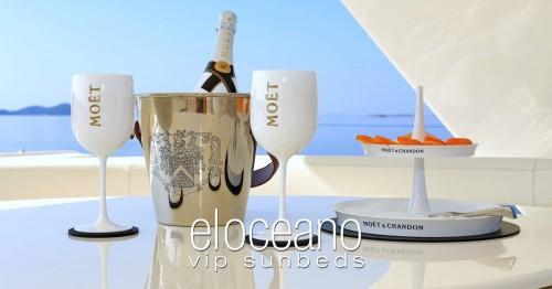 VIP Sunbeds at El Oceano Beach Hotel OG02