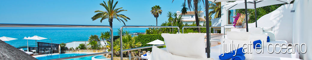 July at El Oceano Luxury Beach Hotel, Mijas Costa, Spain P01