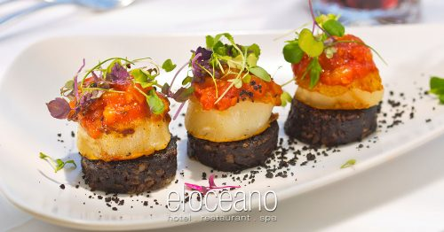 Fine Dining at El Oceano Restaurant, Mijas Costa, Spain OG02