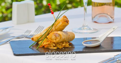 Fine Dining at El Oceano Restaurant, Mijas Costa, Spain OG03