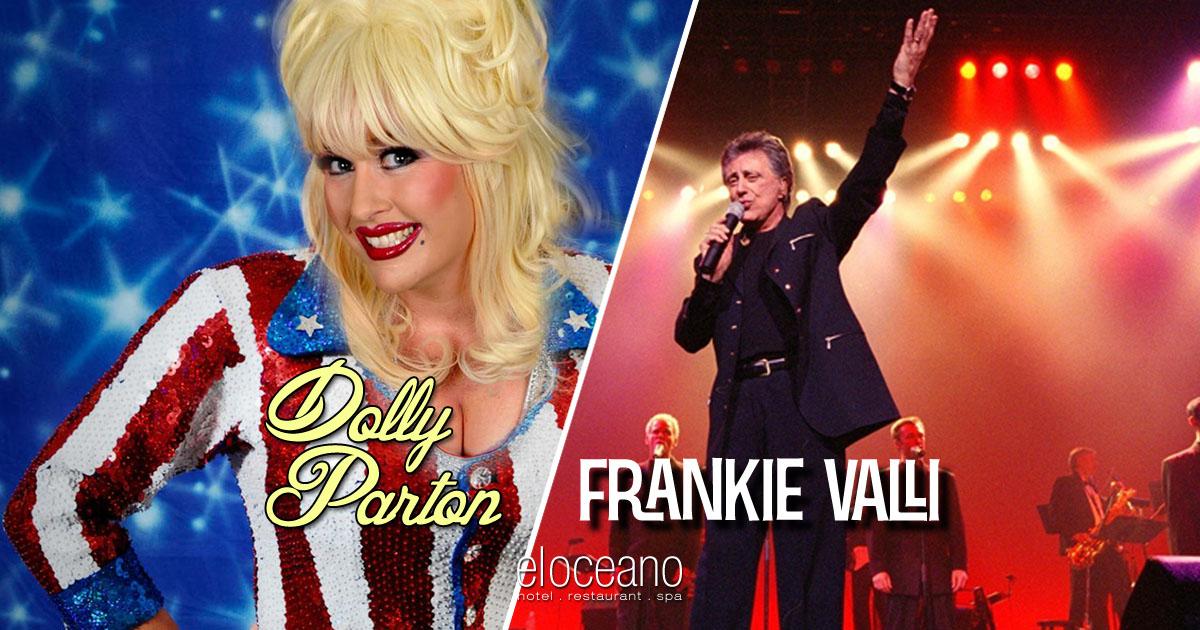Dolly Parton Frankie Valli Dining Entertainment at El Oceano Hotel Restaurant OG01