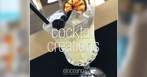 Gin Fizz - Cocktails at El Oceano OG01