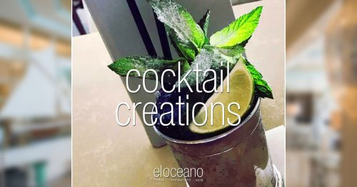 Mint Julep - Cocktails at El Oceano OG01