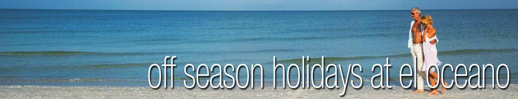 Off Season Holidays El Oceano Luxury Beach Hotel Spain P01