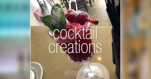 Raspberry Runner - Cocktails at El Oceano OG01
