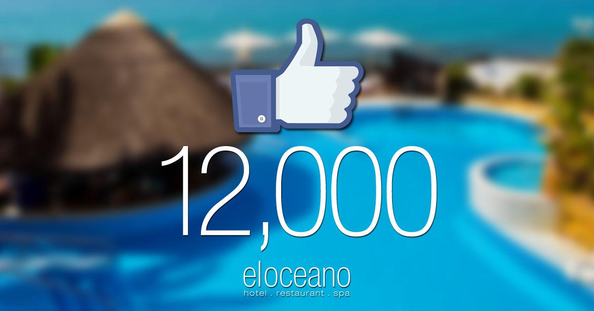 12000 Facebook Likes