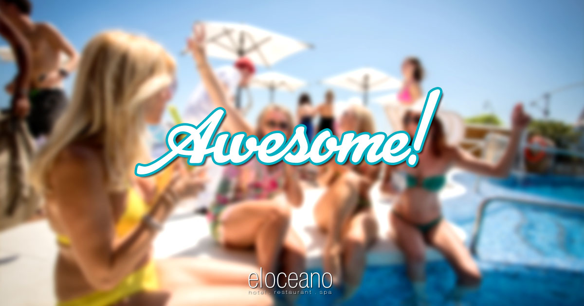 Awesome Afternoons at El Oceano Luxury Beach Hotel