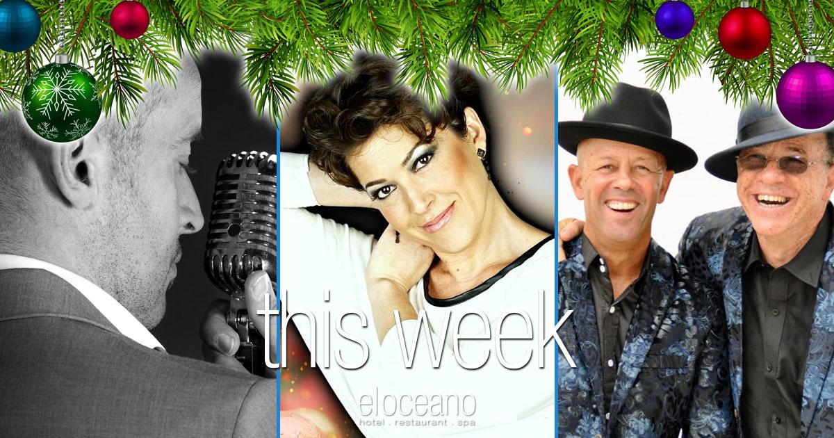 This Week at El Oceano Beach Restaurant Mijas Costa Spain OG32