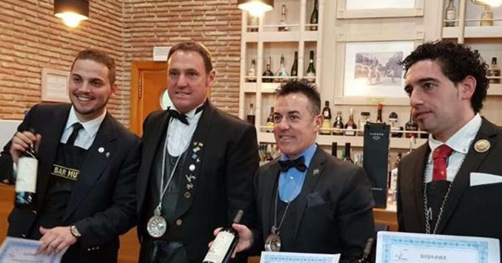 Pino Wins The Best Sommelier in Malaga Again - El Oceano Hotel Mijas Costa Costa del Sol Spain OG3