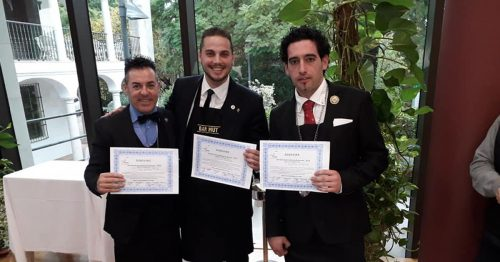Pino Wins The Best Sommelier in Malaga Again - El Oceano Hotel Mijas Costa Costa del Sol Spain OG4