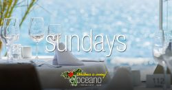 Sundays at El Oceano Hotel Restaurant December 2018 OG02