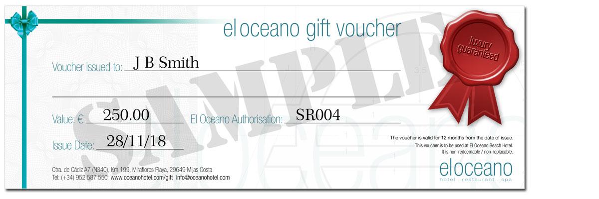 el oceano gift voucher 01