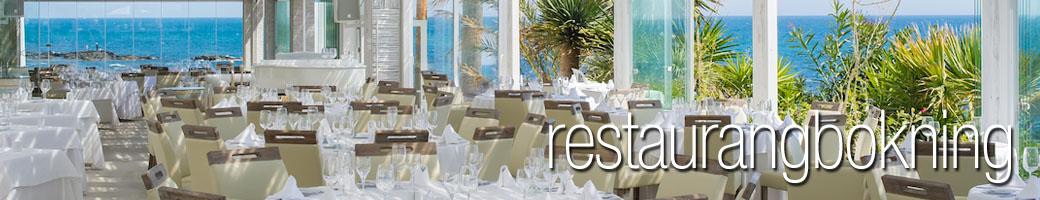 Restaurangbokning - El Oceano Restaurang och Hotell Mijas Costa Spanien